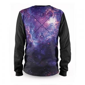 Tricou cu mânecă lungă, pentru downhill/Freeride si enduro, Loose Riders, KOSMIC DARK, Kosmic Graphics