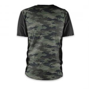 Tricou cu mânecă scurtă, pentru downhill si enduro, Loose Riders, CAMO POCKET S
