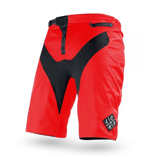Pantaloni scurți downhill/enduro Loose Ridere C/S SHORTS RED