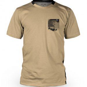 Tricou cu mânecă scurtă, downhill/enduro, Loose Riders, VINK CAMO TAN - S