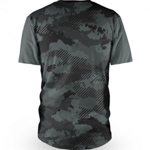 Tricou cu mânecă scurtă, pentru downhill si enduro, Loose Riders, VINK CAMO SLATE - S