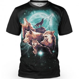 Tricou cu mânecă scurtă, downhill/enduro, Loose Riders, WOLFPACK-S